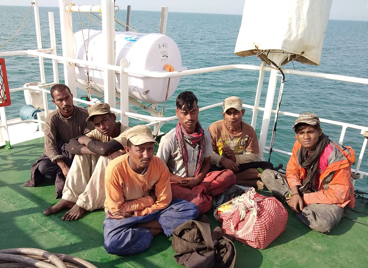 Pakistani fishing boat with 7 aboard apprehended off Kutch coast
