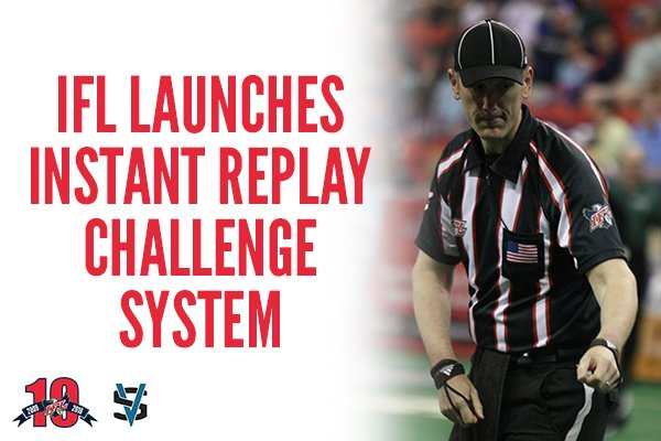 Image result for Indoor Football League launches instant replay system for 2018