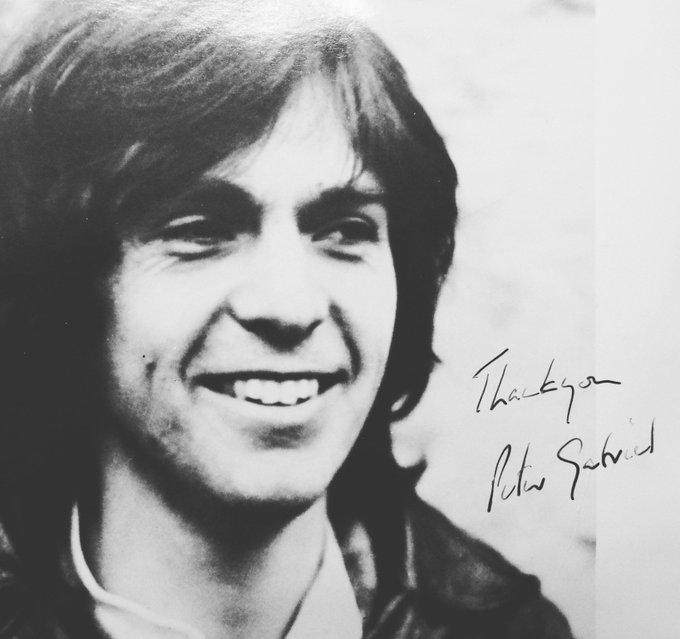 Happy Birthday Peter Gabriel xx