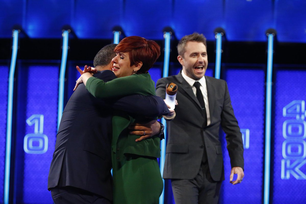 The hugs just keep on coming! #NBCTheWal...