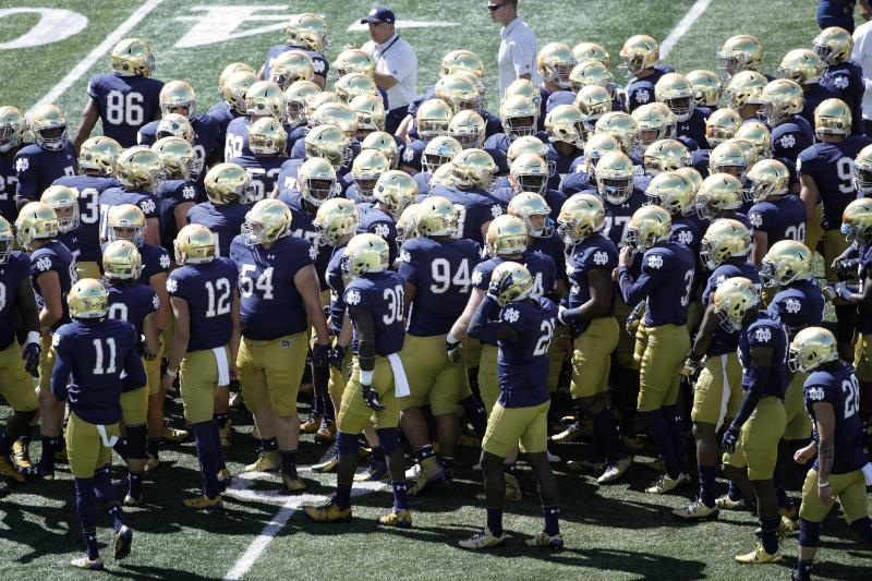 Notre Dame to vacate all wins from 2012 and 2013 after NCAA denies appeal from academic misconduct case https://t.co/zXluB2tVMa
