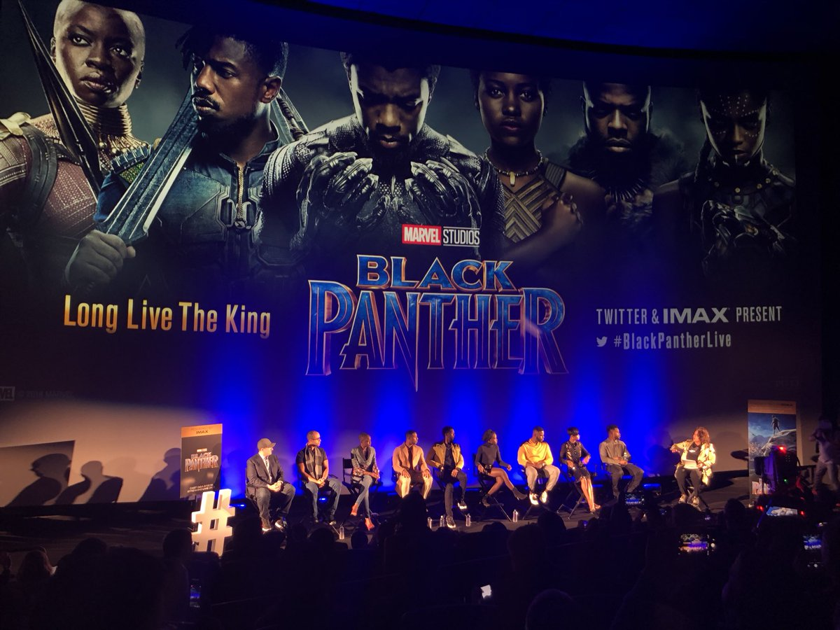 Black Panther premier in Zim