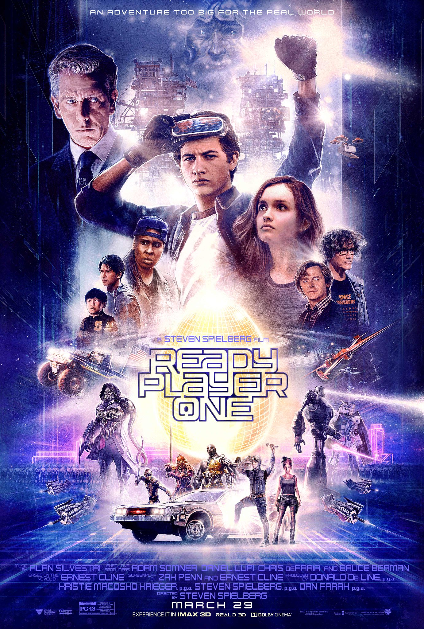 Ready Player One poster | A Steven Spielberg Film