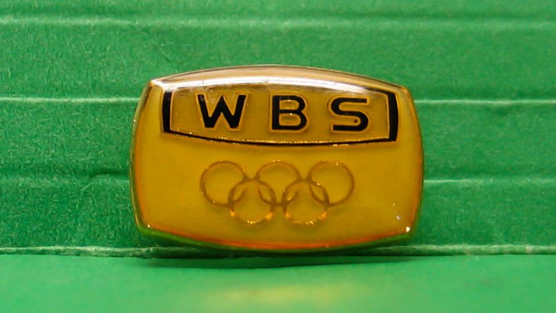Ward-Beck Olympics pin