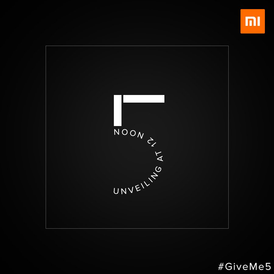 We are gearing up to unveil the '5' - RT...
