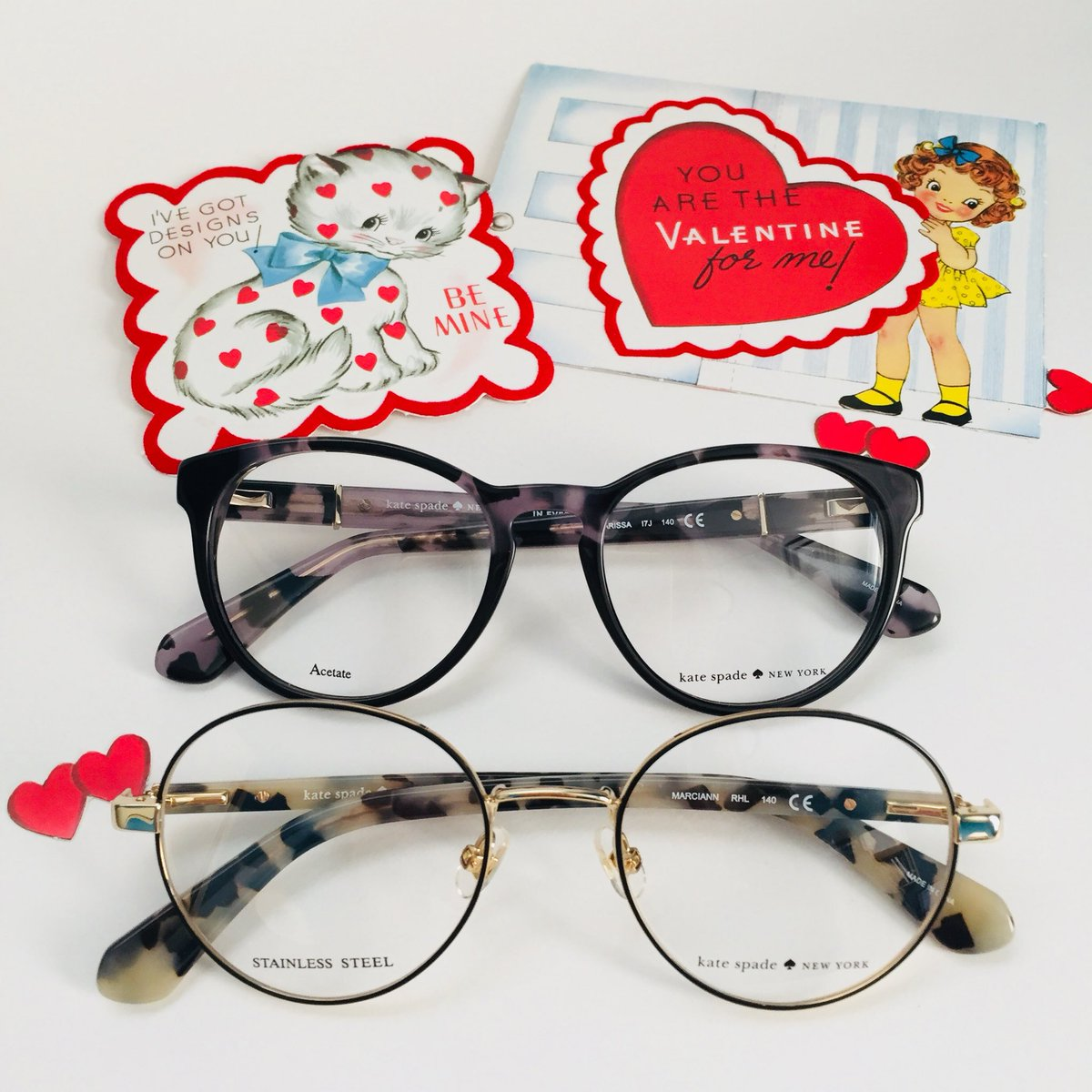 c922a838fa4 Fall in love again...with wearing glasses. Round and feminine from Kate