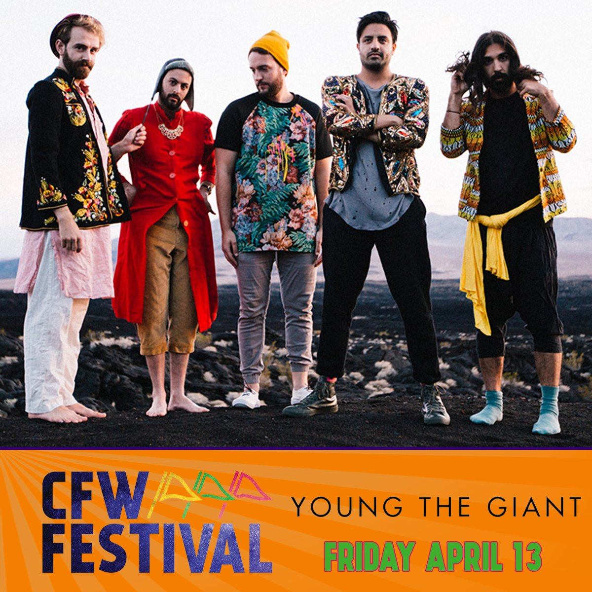We're playing the first @CFW_Festival this April in Arlington, TX !! Tickets and info: https://t.co/8gGC4uk30d https://t.co/yQ0DXIl1VL