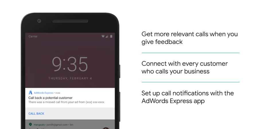Find out how @adwords Express can help you to improve your #smallbiz customer calls. goo.gl/jMNtS1