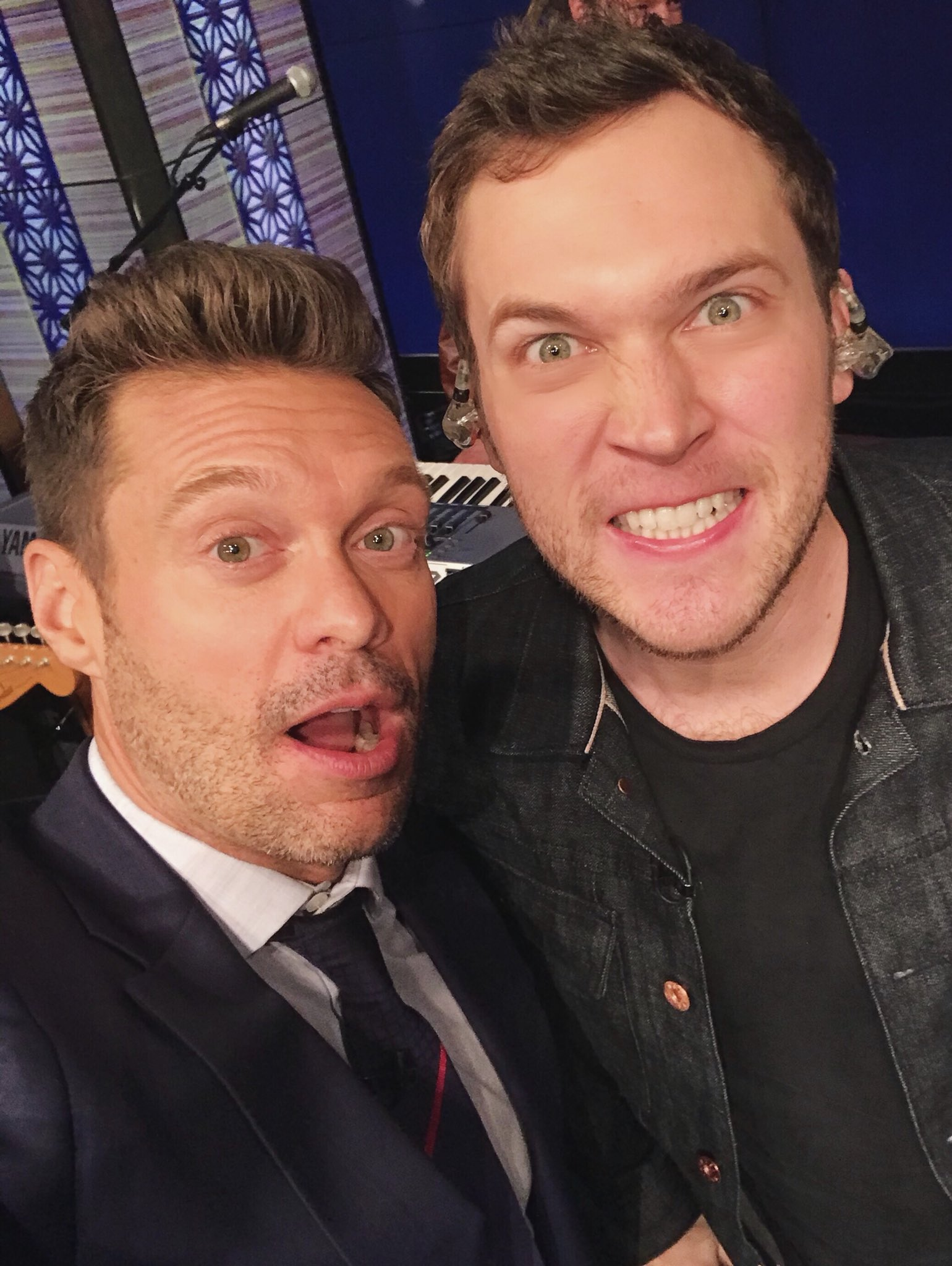 Just 2 Georgia boys hustlin @Phillips #kellyandryan https://t.co/buqGQZProG