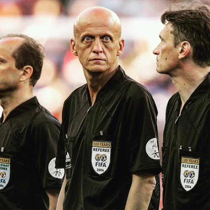 Happy birthday, Pierluigi Collina! The most iconic referee ever.