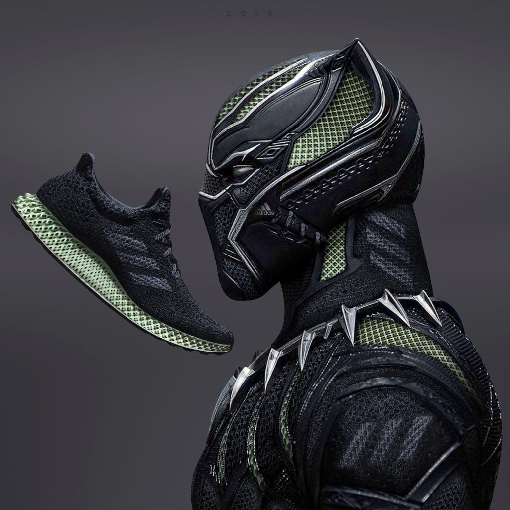 ae8a932fd20 Adidas wakanda model dame 4 adidas wakanda dame 4 black panther release  date Jefferson Institute