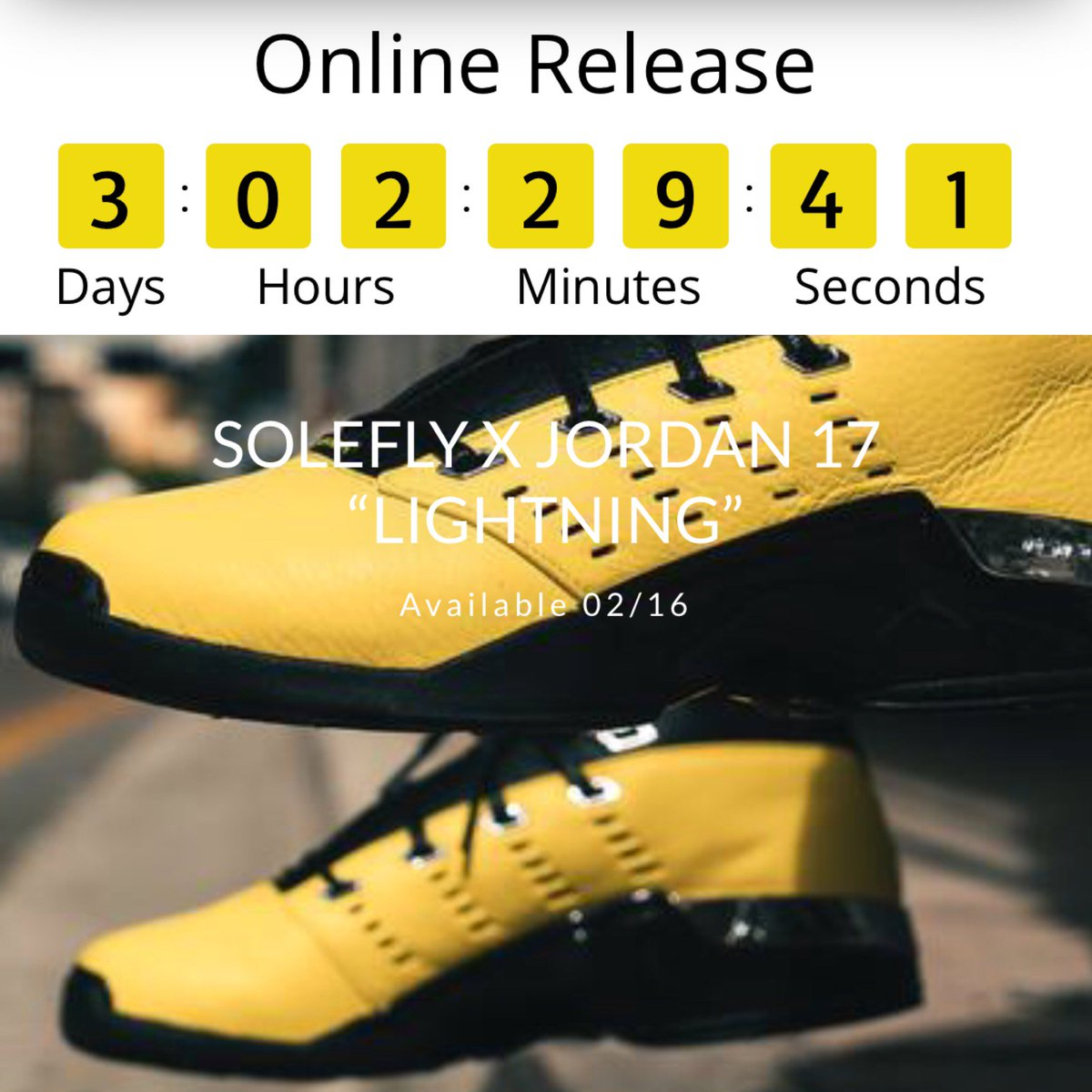 a037283a SOLEFLY x Jordan 17 Low releasing online at http://SoleFly.com February  16th Limited to 2,300 pairs. Individually numbered.pic.twitter .com/VCNpqKEUXz