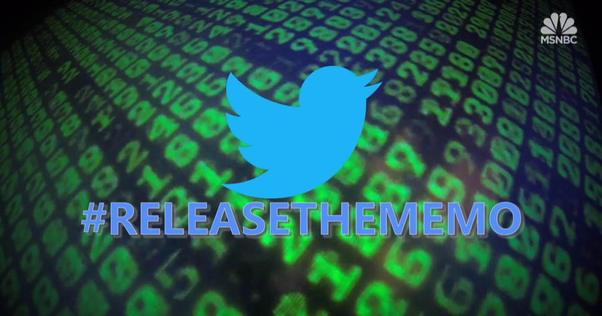 #ReleaseTheMemo campaign pushed by Russian backed accounts https://t.co/K3Ul4w4Vl0