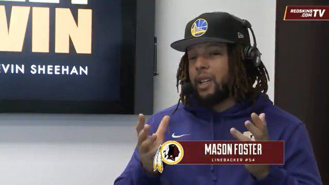 What's on Mason Foster's offseason wish list for the #Redskins? @team980   More: https://t.co/2WiVgksgip https://t.co/tELpqGPTS7