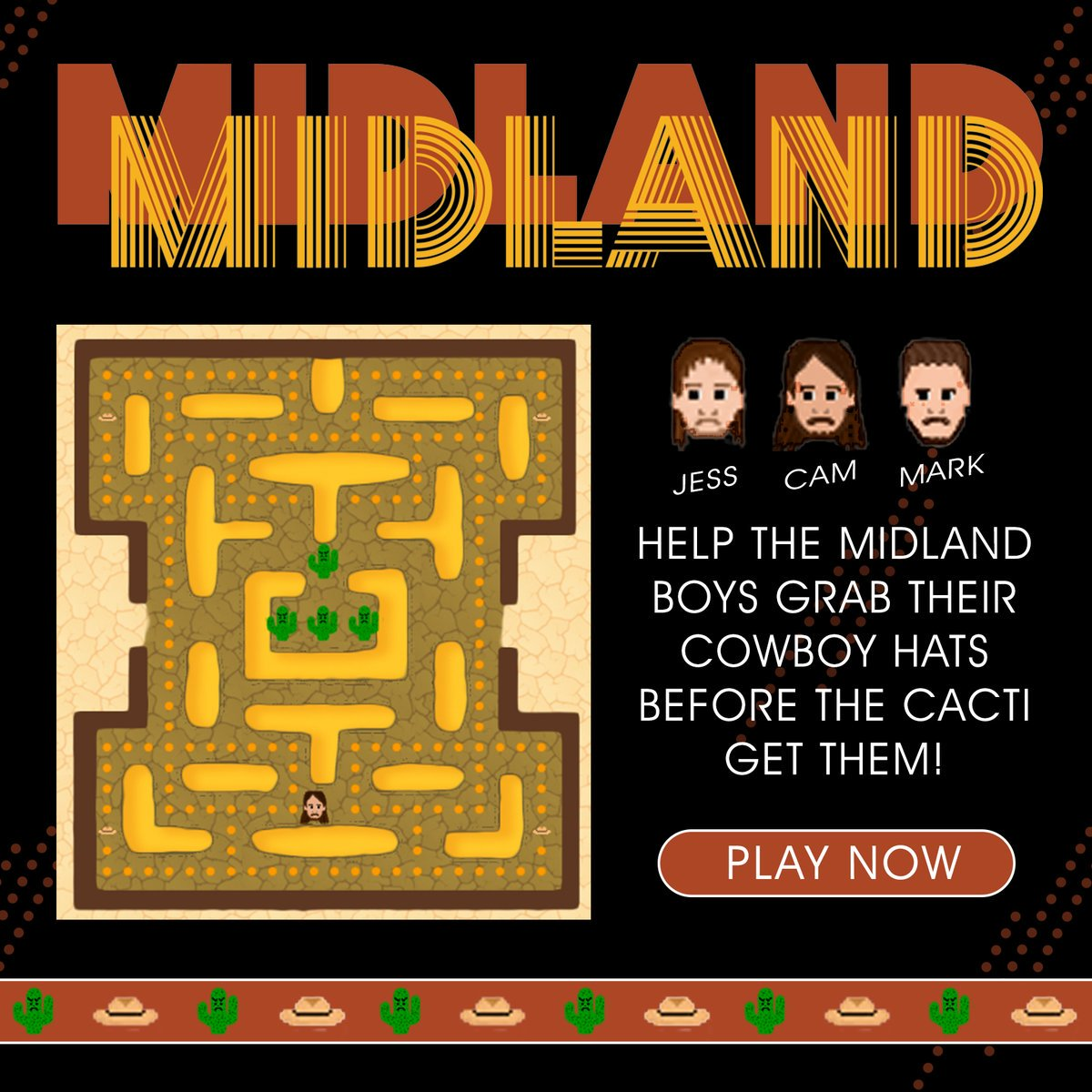Login to @Spotify and have some fun with @MidlandOfficial's Maze Game! Play now >>> https://t.co/o0fF8veuWD https://t.co/VpNRlG7idl