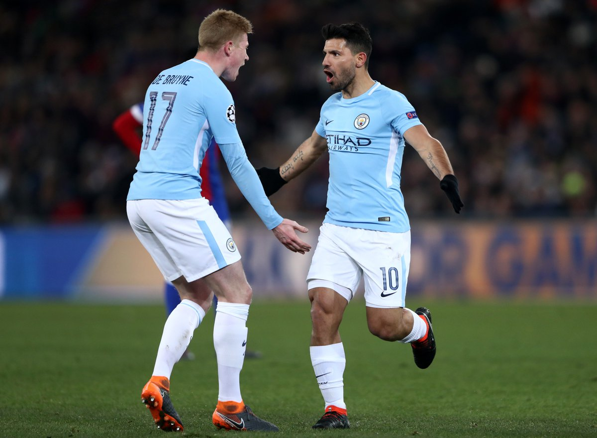 FC Basel 0-4 Manchester City Highlights