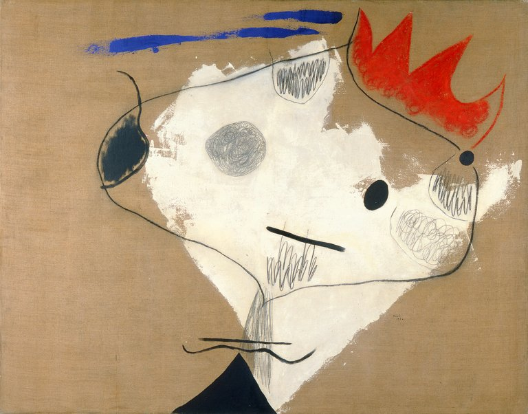 Whether you are celebrating with pączki, pancakes or king cake, laissez les bons temps rouler. Happy #FatTuesday Image: Joan Miró (Spanish, 1893-1983) The Kings Jester (Le fou du roi), 1926 Oil, pencil, and charcoal on canvas Gift of Mr. and Mrs. Maurice W. Berger
