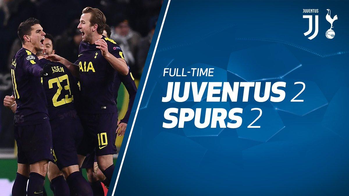 Chấm điểm kết quả Juventus 2-2 Tottenham