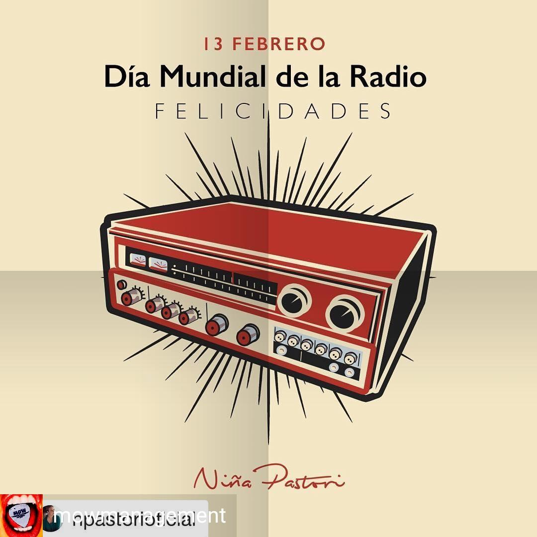 @mowmanagement  -  #Repost @npastorioficial with @get_repost ・・・ Feliz #DiaMundialDeLaRadio familia !     <br>http://pic.twitter.com/jdgjiGMReH