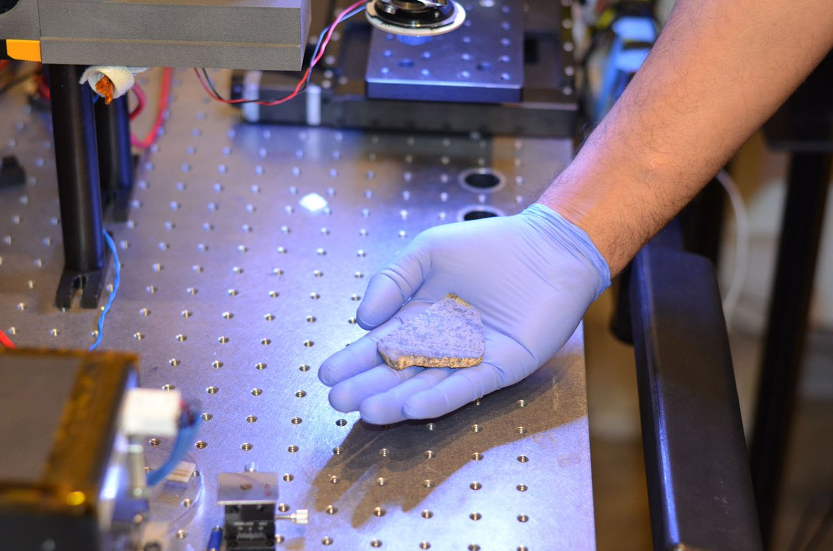 Return to Sender: This meteorite fell to Earth from Mars. A piece of it will remain to help test #Mars2020's laser. Part will fly back to the Red Planet aboard the rover. Find out why: https://t.co/zVmxt6yHjk