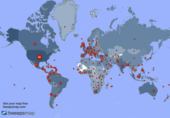 I have 507 new followers from India, Indonesia, Turkey, and more last week. See https://t.co/Rw9AAvUybD