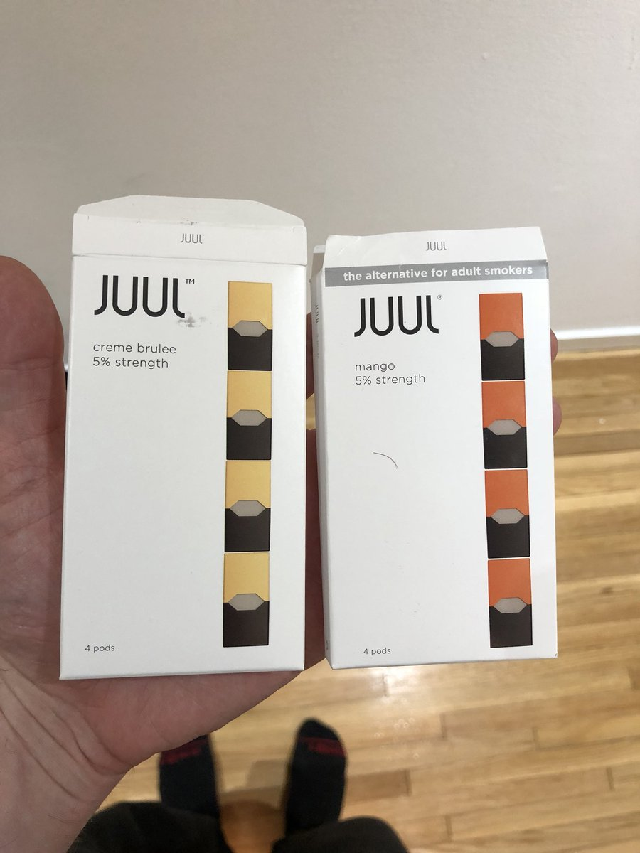Fake juul pods