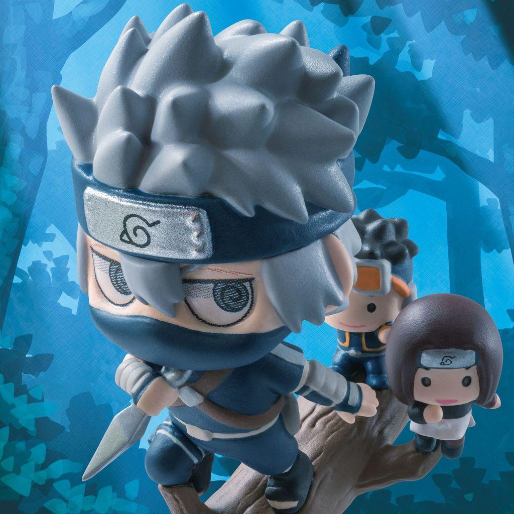 Naruto Shippuden Petit Chara Land Kakashi Hatake Special Set Figure New In Box