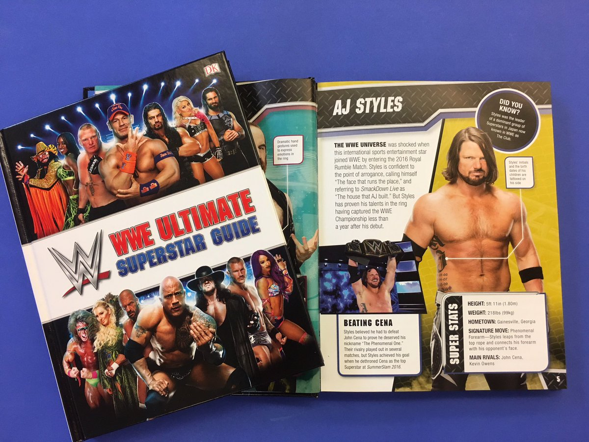 The new @WWE Ultimate Superstar Guide is looking #Phenomenal!  Pre-order NOW: wwe.me/EFQABq