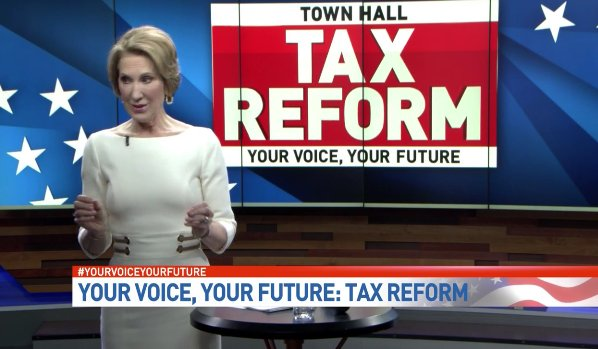 .@CarlyFiorina is monitoring #yourvoiceyourfuture town hall, watch now! https://t.co/cyFVwba7TT