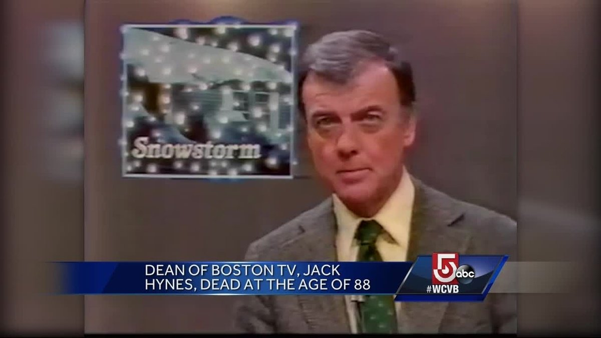 wcvb tv boston on twitter jack hynes the man known as the dean of