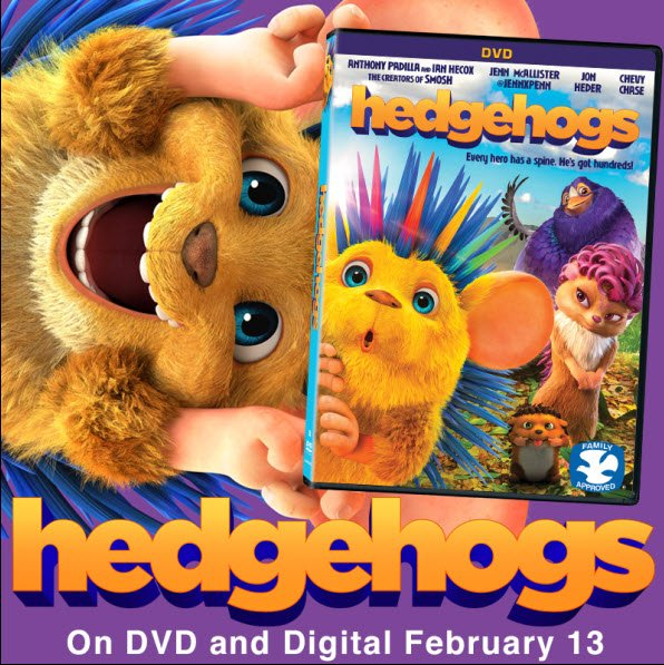 """HEDGEHOGS out on DVD and Digital today! I'm the voice of """"Think Man!"""" youtu.be/2n6qF6cwcJA"""