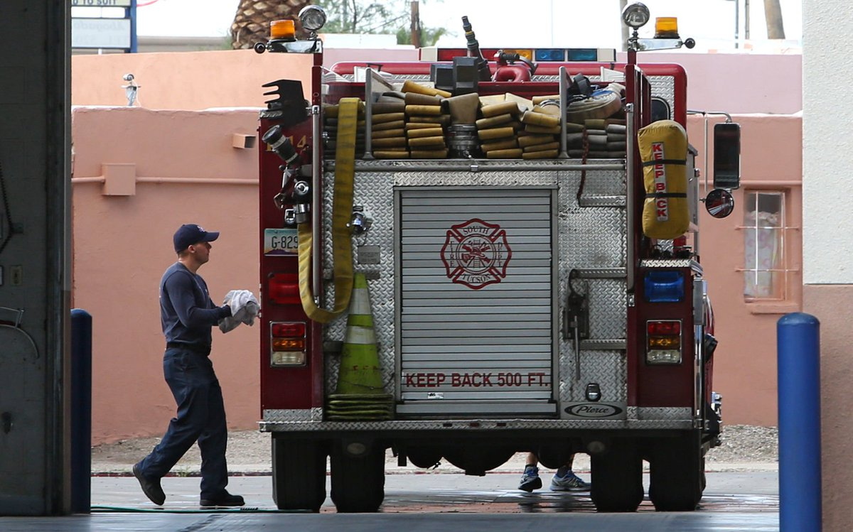 Budget woes continue as South Tucson deals with mass resignations of firefighters https://t.co/oxbGRNK8Hc