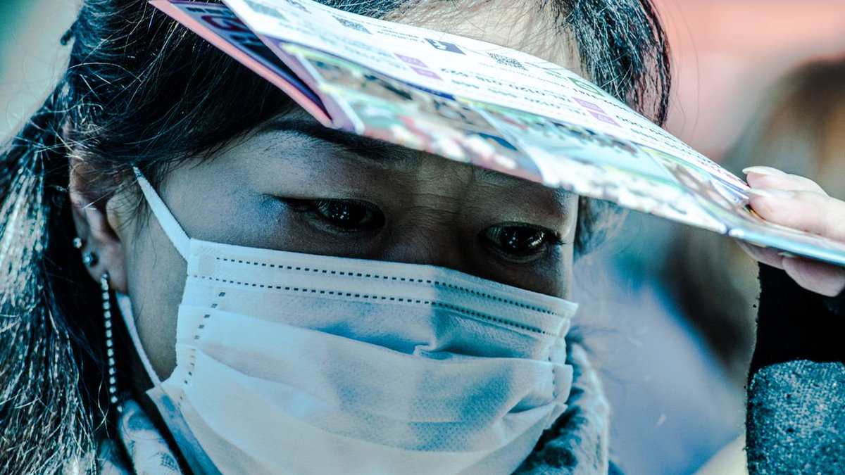 日本の「マスク文化」は、異様な光景を生み出している──コミュニケーションを拒む「断絶」のポートレート https://t.co/cYGP9b8QAY