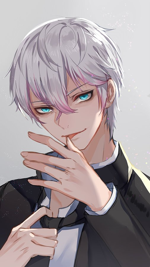 Saeran: &quot;Chocolate for Valentine, huh? what a pathetic gift......Come here! I will show you how it should be&quot;  Happy Valentine guys !  #mysticmessenger #Saeran #ハッピーバレンタイン <br>http://pic.twitter.com/bL5SVVCrWT
