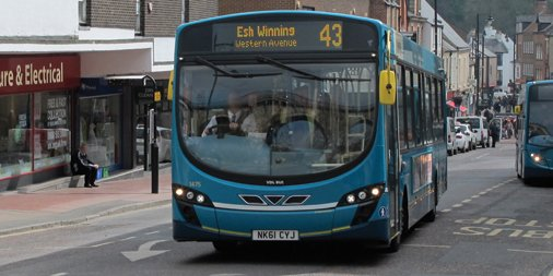 Durhamcountycouncil On Twitter Travel By Bus In County Durham