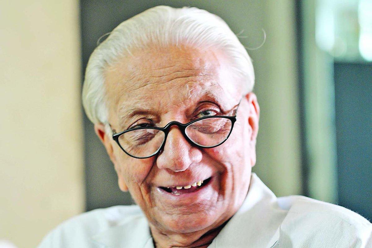 veteran gujarati poet  litterateur niranjan bhagat passes
