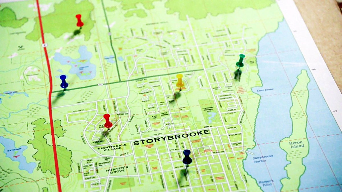 Ava Thorne On Twitter Pulling Out A Map Of Storybrooke And Her