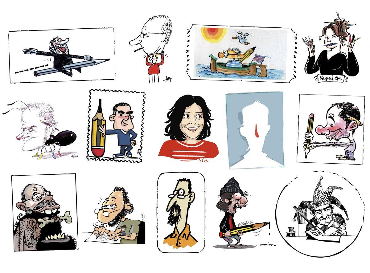 Sempre amb els dibuixants! #Humor #Llibertat #LibertadDeExpresion #PinzellSatírics