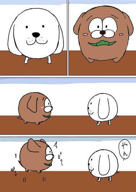 リーダー犬とチョロ
