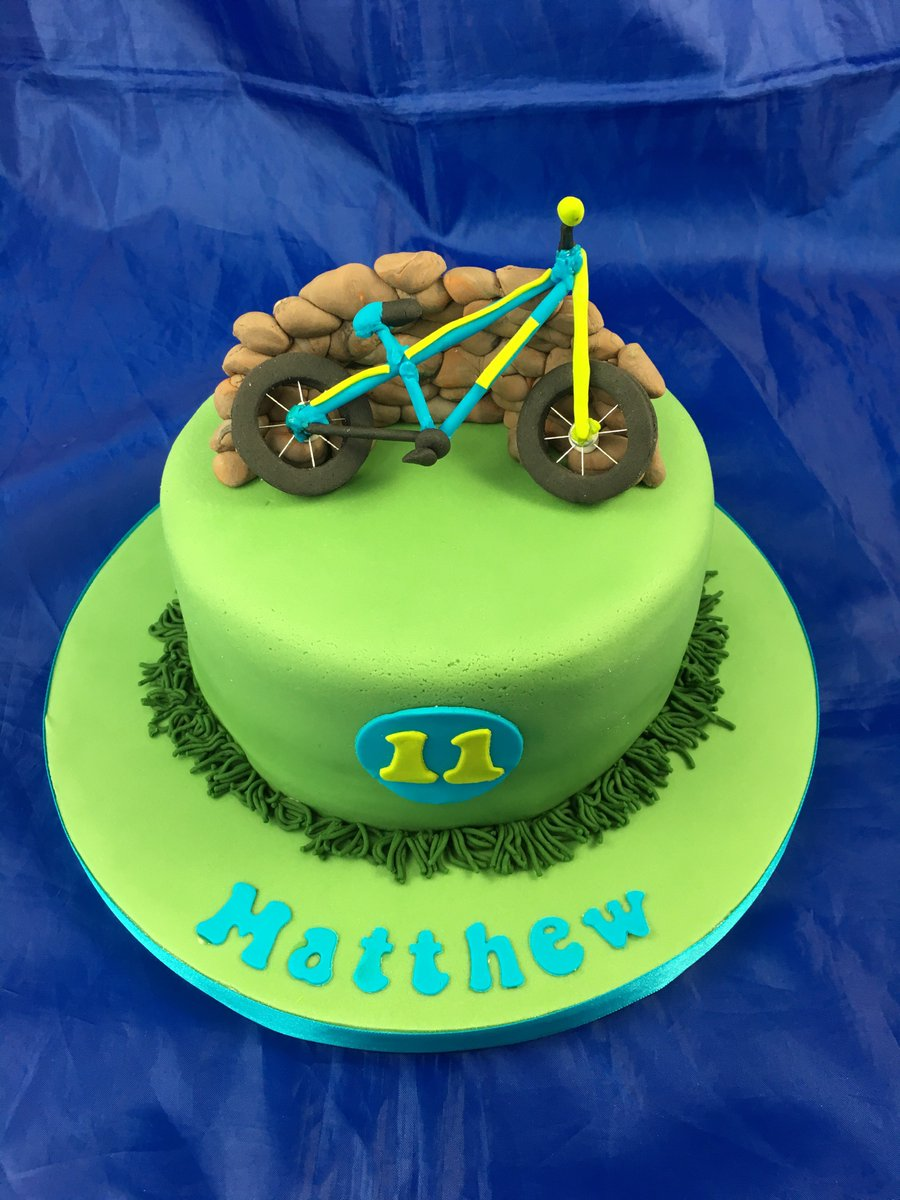 Superb Nicola Young On Twitter Mountain Bike Cake Mountainbike Funny Birthday Cards Online Overcheapnameinfo