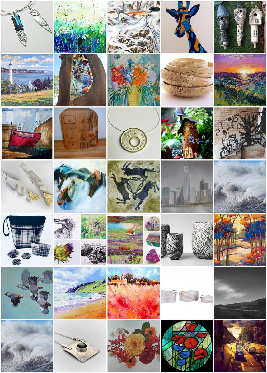 Open Studios North Fife, Saturday 5th, Sunday 6th and Monday 7th May 2018. Some images from this year&#39;s participants. See the full list and all info at  http:// openstudiosfife.co.uk/artists-media  &nbsp;   #openstudios #welcometofife #craftscotland #Scottishartists #handmademadeinscotland #UKhandmade #Fife<br>http://pic.twitter.com/5v8812QUIH