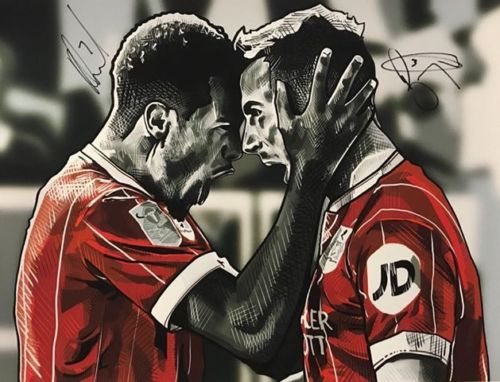 You have just under 40 mins left to bid on this @hallyink print of @bcfctweets players @joebryan & Korey Smith & help raised funds for #CHSW #FundraiserFriday ebay.co.uk/itm/2730421527…