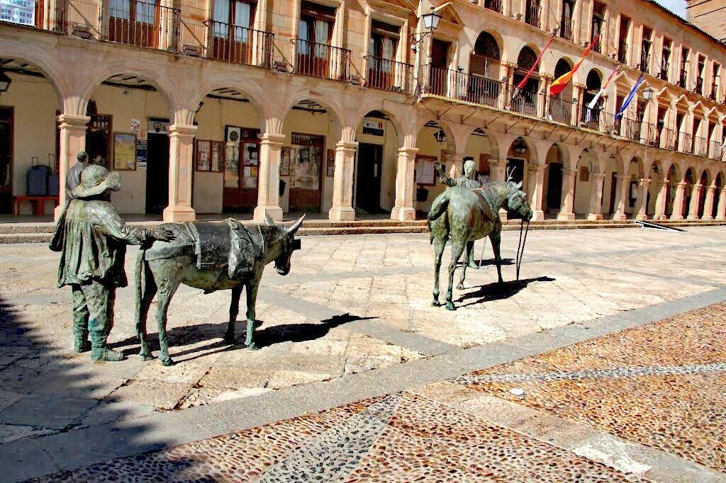 El Lugar de La Mancha, #VillanuevadelosInfantes #CampodeMontiel #CiudadReal #Castilla #España #LaMancha #Spain #Espagne La Última Morada de #Quevedo