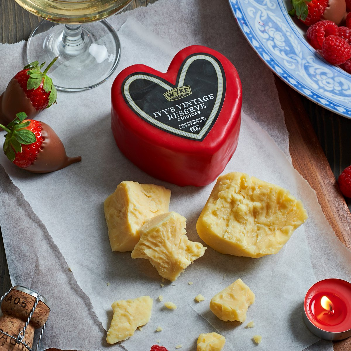 Say it with cheese this #ValentinesDay! We're giving 5 lucky cheese-lovers the chance to #WIN one of our limited edition hearts. To enter simply RT & reply telling us who you'd love to share a piece of your heart with on the 14th February. Winners announced midday 09.02.18.