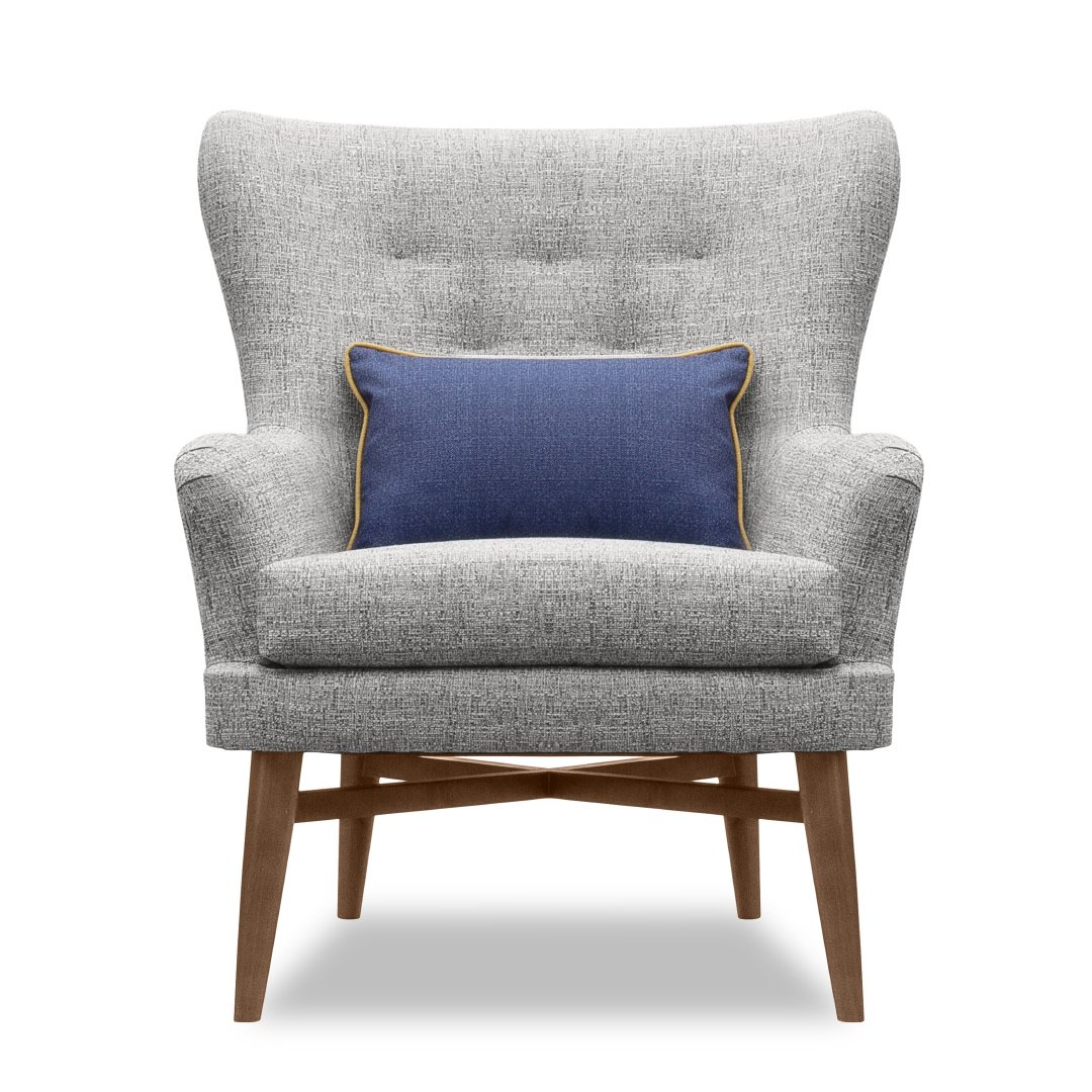 Beau #Traditional Meets #modern In This #customizable #lounge #chair By Charter  Furniture. What Color Would You Use To Customize This Piece For Your Next  ...