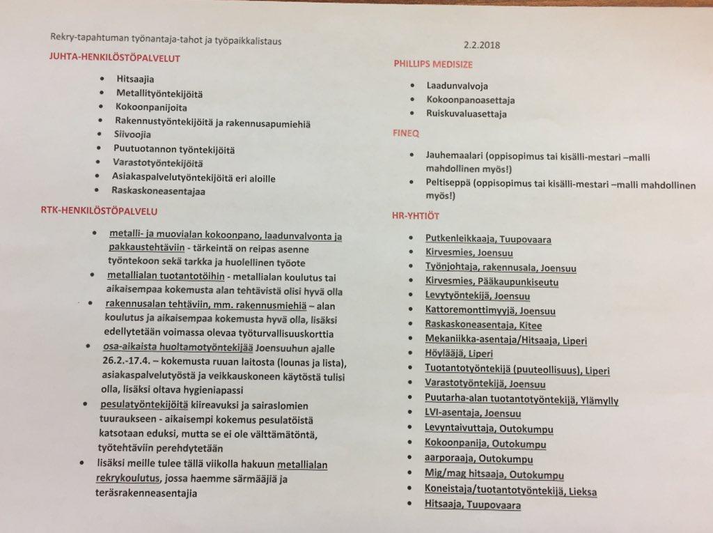 Jakomo.fi-palvelussa avoimia työpaikkoja 19426