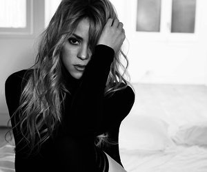 Happy birthday. The aura she has of being a woman. Love always, Shakira.