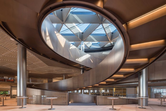 Blueprint magazine on twitter we had a billionaire who wanted to to be an architect working with an architect who wanted to be a billionaire httpdesigncurialnewsbloomberg hq by foster partners 6040537 malvernweather Choice Image