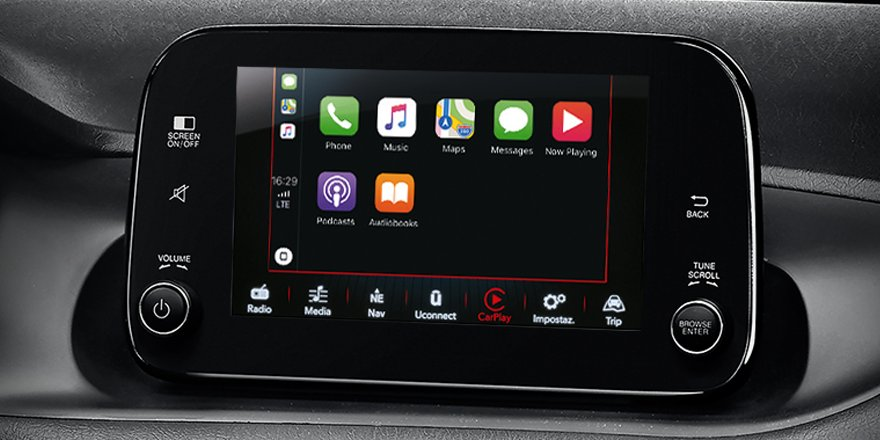fiat on twitter style meets technology on board fiattipo s design enjoy the uconnect 7 hd. Black Bedroom Furniture Sets. Home Design Ideas