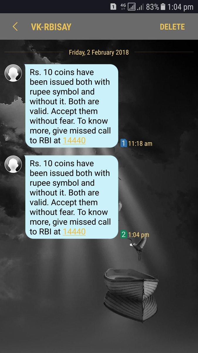 Sucheta Dalal On Twitter So Rbi Clarifies Govt Mints Stupidity